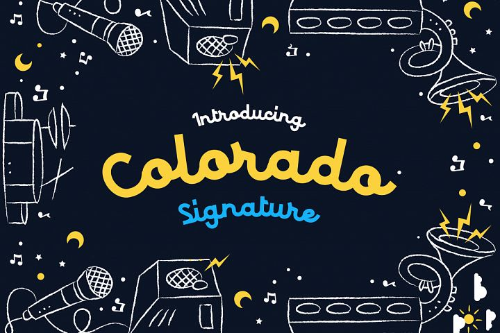 Colorado - Retro Typeface example
