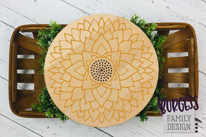 Flower mandala III| Cuttable file