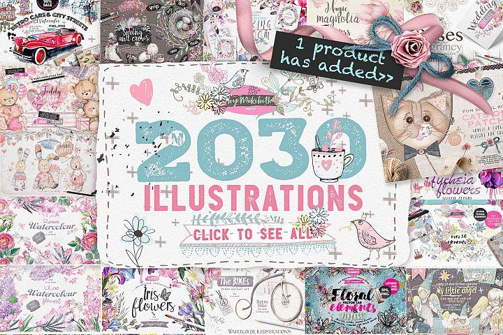 2030 illustrations in1 bundle