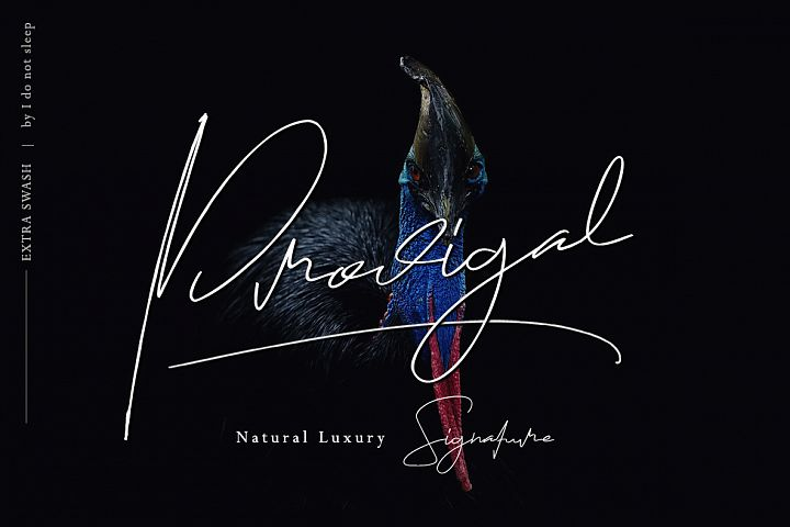 Prodigal Natural signature & Extra swash