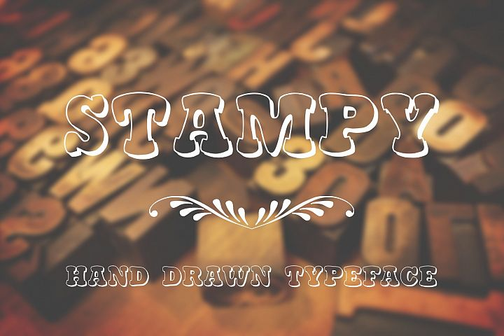 Stampy Light font