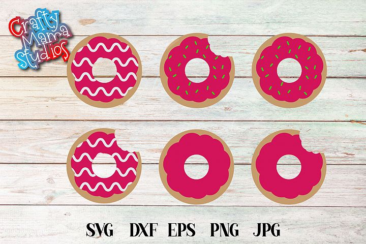 Donuts SVG File, Donut Sublimation