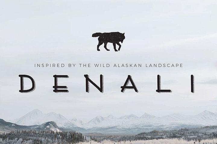 Denali | A Wild Alaskan Sans-Serif