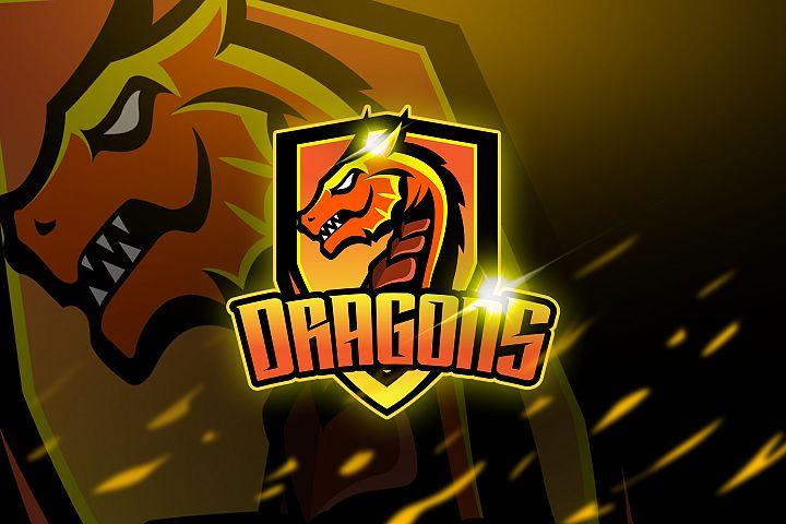 Dragons - Mascot & Logo Esport