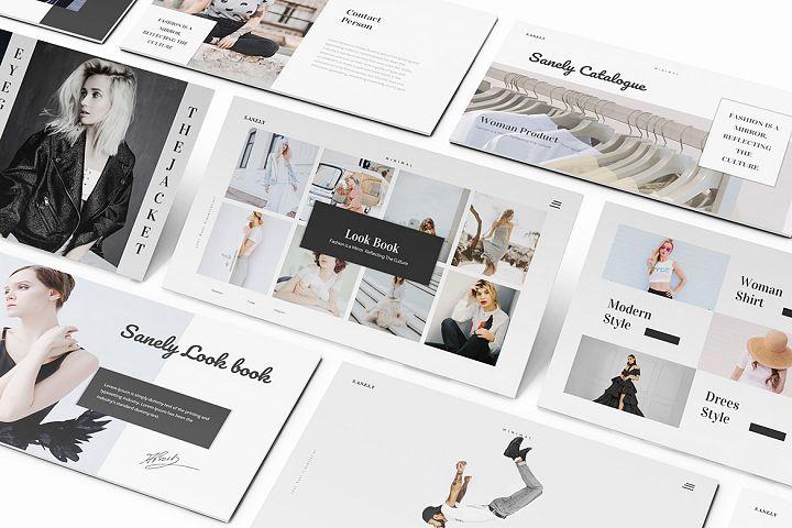 Fashion lookbook Keynote