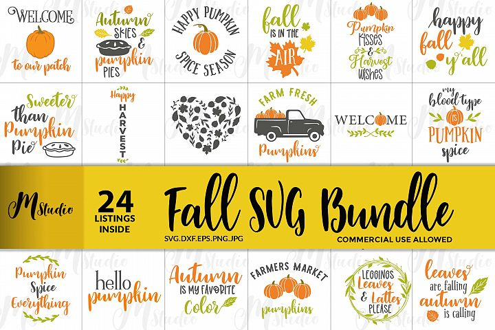 Fall SVG Bundle.