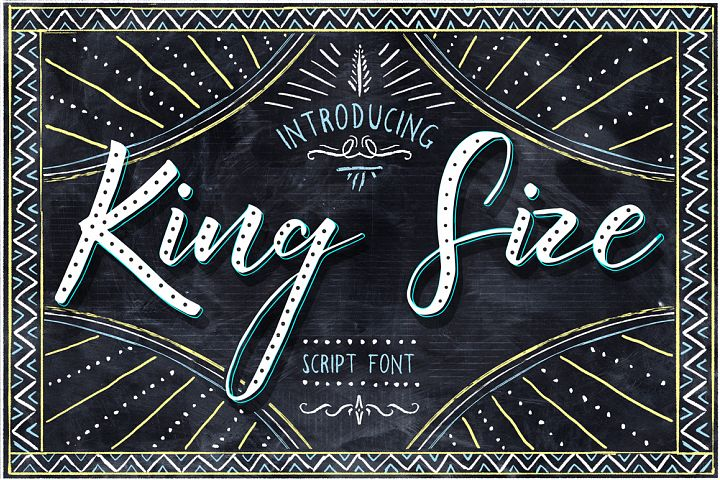 Download King Size Font - Free Font of The Week | Font Bundles