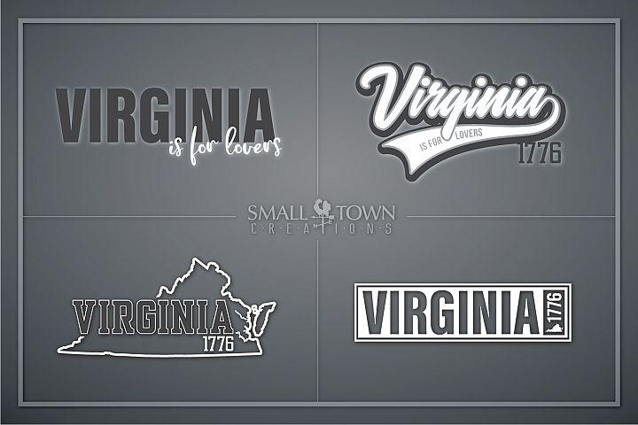 Virginia, Virginia is for Lovers-slogan, PRINT, CUT & DESIGN