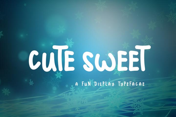 Cute Sweet Display Font