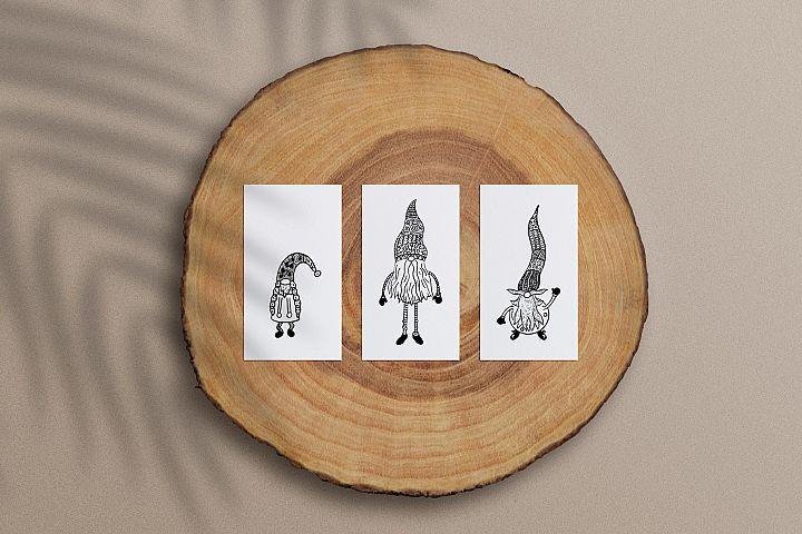 Ten Gnomes SVG Cut Files example image 3