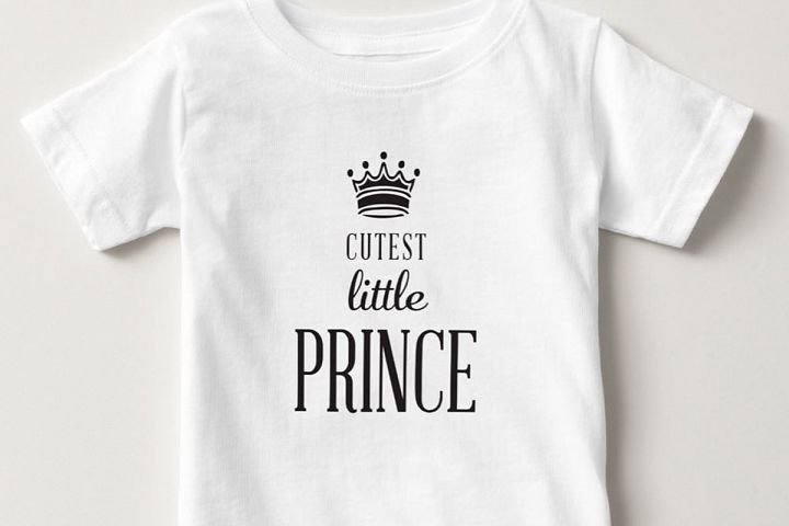 Cutest Little Prince Graphic
