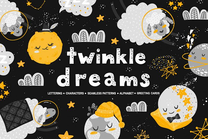 Twinkle Dreams - vector collection