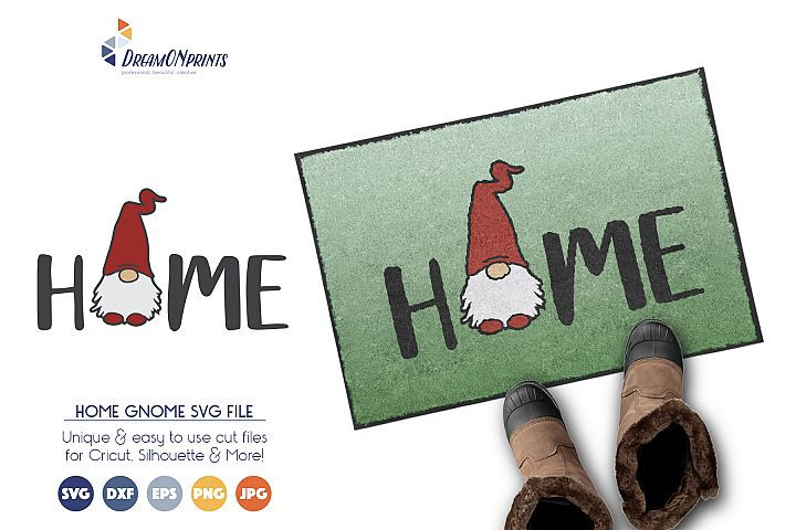 Gnome SVG Cut Files - Home SVG Vector