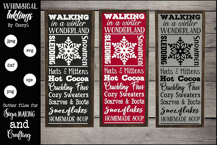 Winter Wonderland SVG