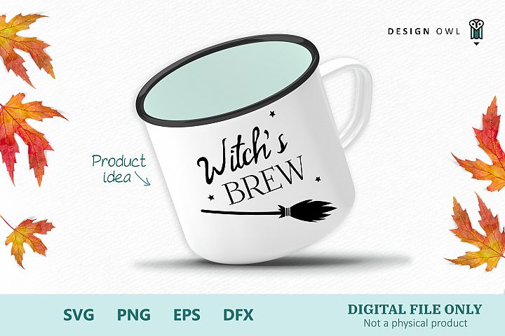 Witchs brew - Halloween SVG file