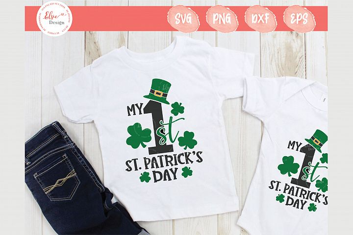 My First St. Patricks Day SVG Cut Files