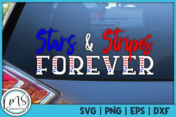 Stars & Stripes SVG, PNG, EPS, DXF