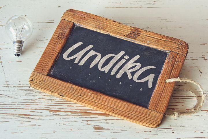 Undika Typeface [-30% Intro]