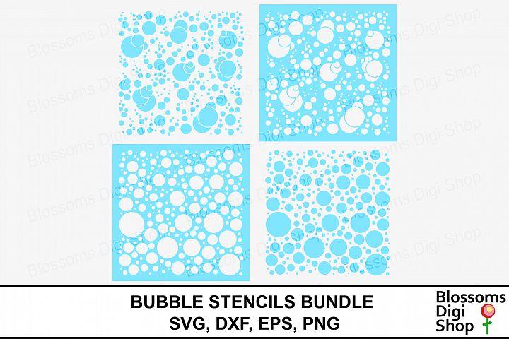 Bubbles Stencil Bundle