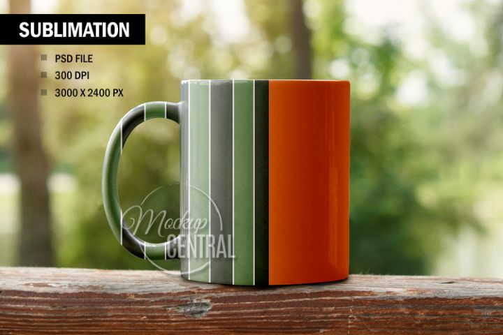 Sublimation Smart Coffee Cup Mockup, Photoshop File