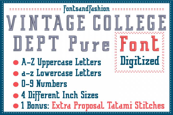 Vintage College Dept_Pure DIGITIZED