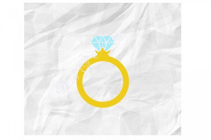 Ring Svg, Wedding Ring Svg, Engagement Ring Svg,Diamond Ring