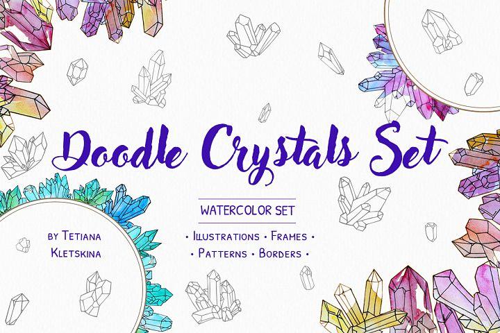 Doodle Crystal Set