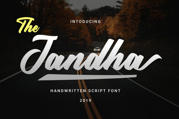 Jandha Font