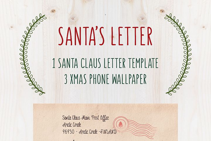 SANTAs LETTER TEMPLATE - Free Christmas letter by TdT