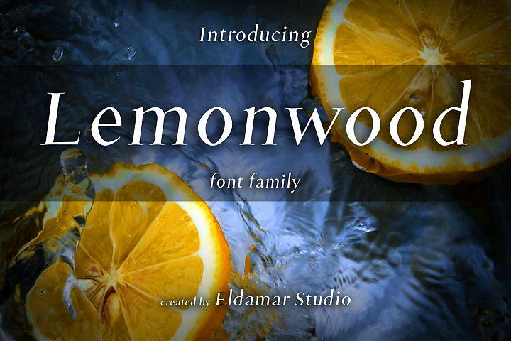 Lemonwood Font