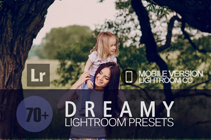 70 Dreamy Lightroom Mobile bundle Presets