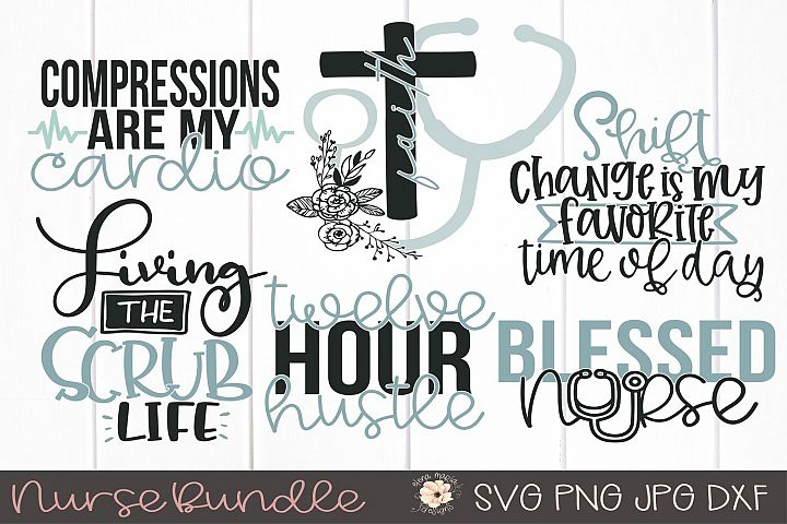 Nurse | Nursing Svg Bundle For Cricut Or Silhouette