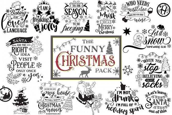 The Funny Christmas Pack