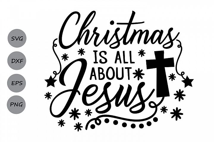 christmas is all about jesus svg, christmas svg, jesus svg.