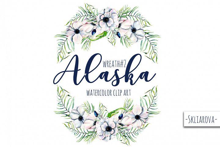 Alaska. Wreath #2