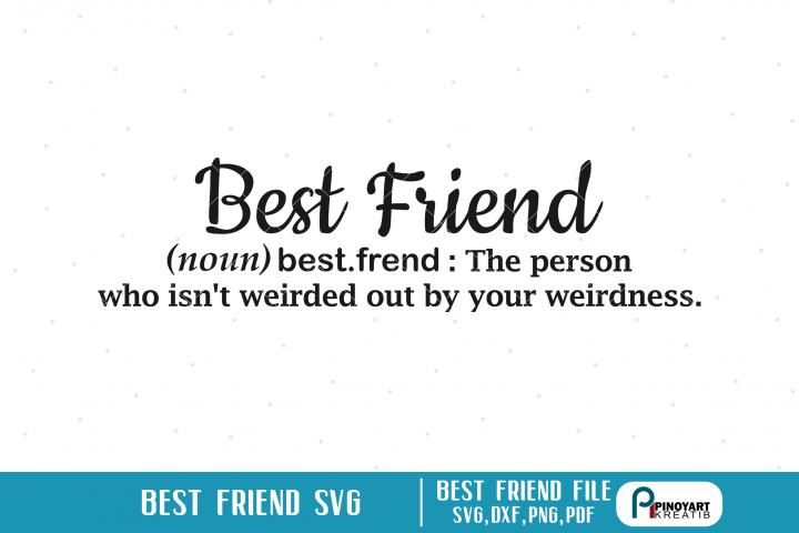 best friend svg, best friend svg file, friend svg, svg