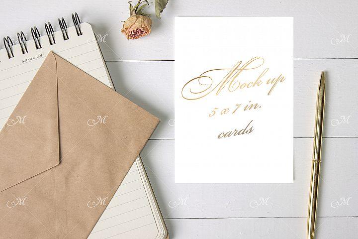 Card & Craft Envelope Mock up