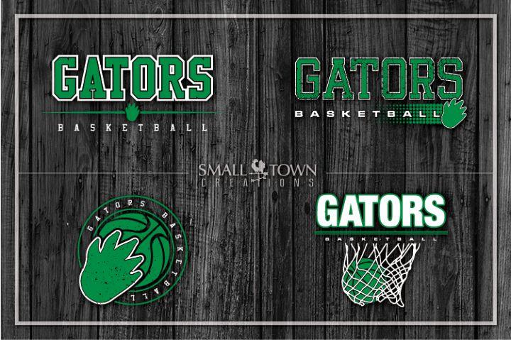 Gators bundle, Gator mascot, team logo, PRINT, CUT, DESIGN
