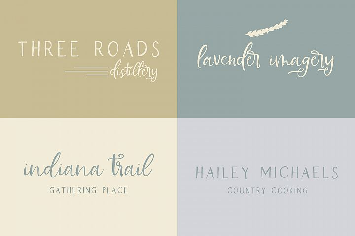 Farmhouse Country Rustic Cursive Font - Free Font of The Week Design0
