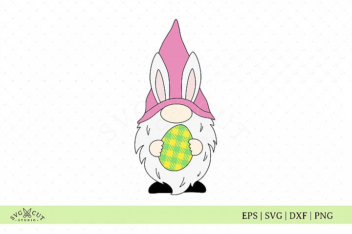 Easter SVG, Easter Gnome SVG Files, Easter Egg SVG