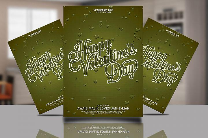 Valentine Card Psd