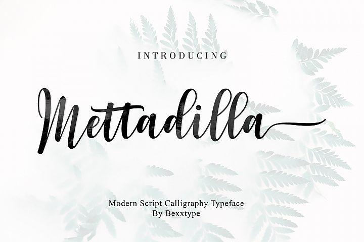 Mettadilla Script||Winter Collection
