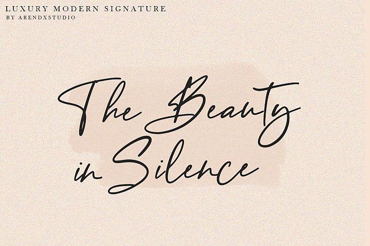Baekrajan Luxury Modern Signature example image 11