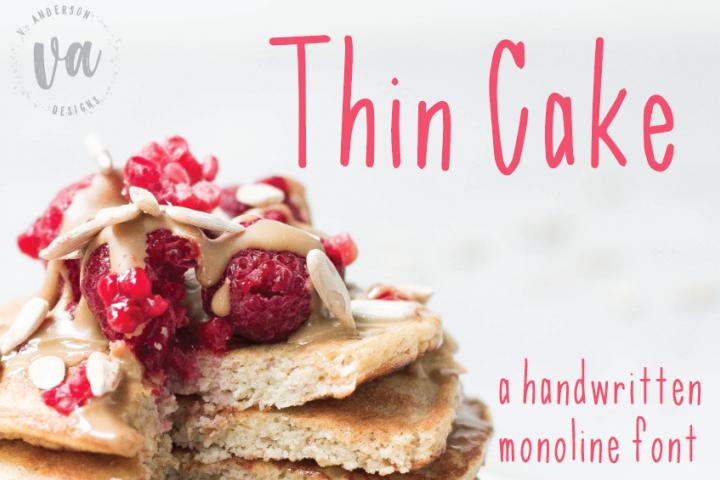 Thin Cake