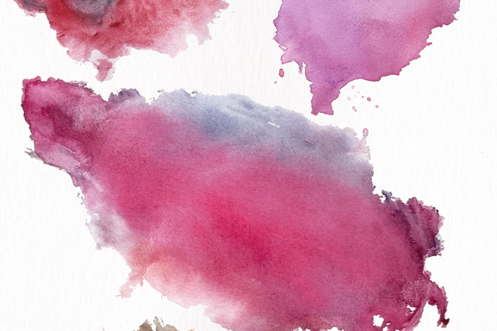 Watercolor Textures - card edition - Free Design of The Week Design 5