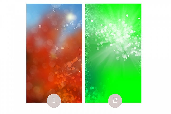 Vertical Backgrounds Four Templates