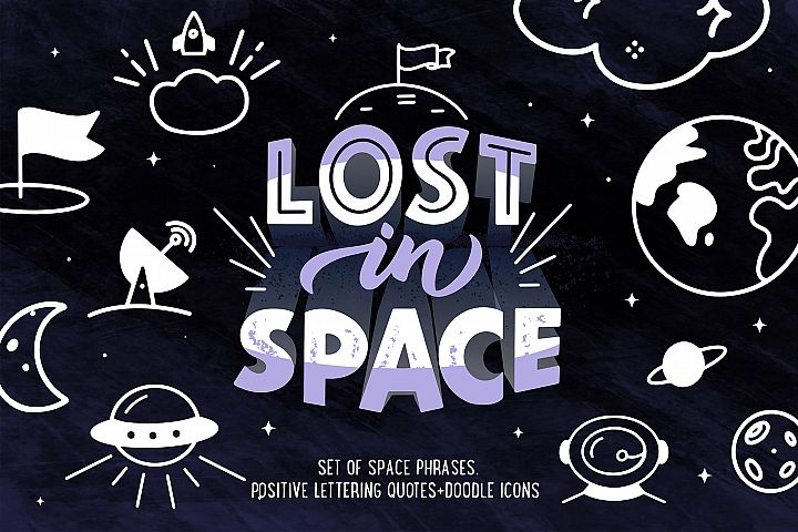 Space lettering phrases