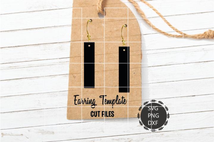 Stripe Earrings Svg, Earrings Svg