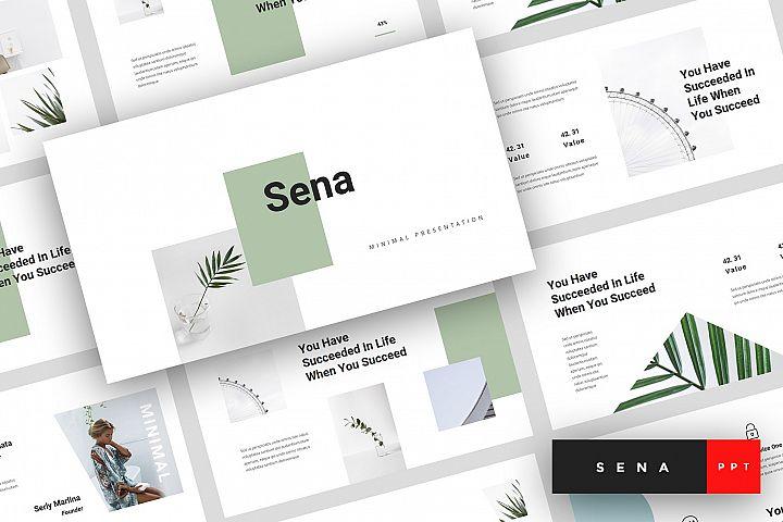 Sena - Minimal PowerPoint Template