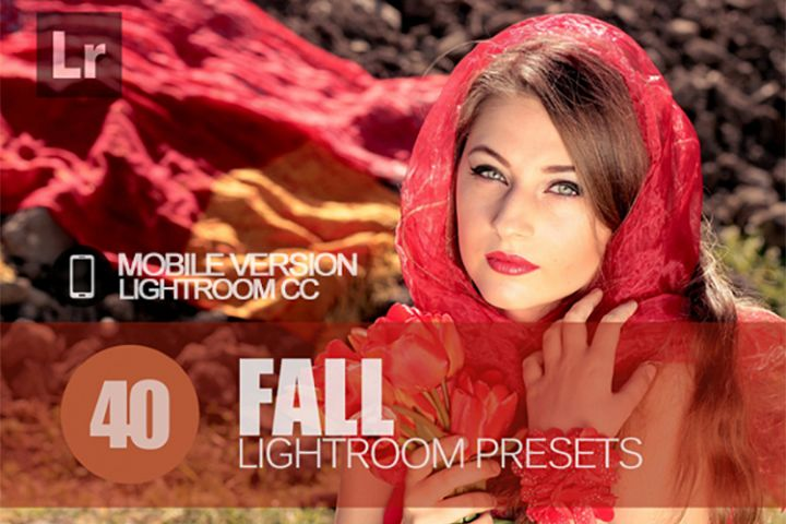 40 Fall Lightroom Mobile bundle Presets